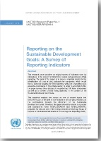 Reporting on the Sustainable Development Goals